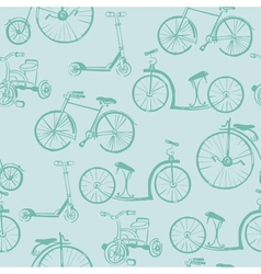 Baby Bicycle Background vector image