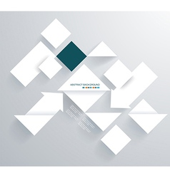 Abstract 3D Paper Graphics vector image