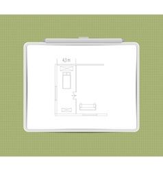 architecture sketch vector image