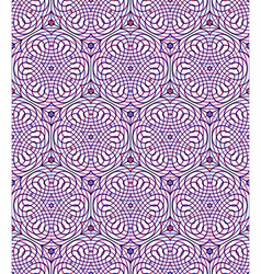 Endless colorful symmetric pattern graphic design vector