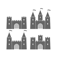 Castle Set vector image