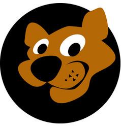 Cougar head logo template vector