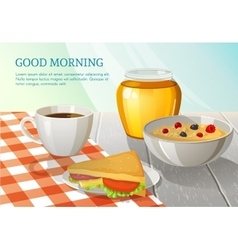 Good Morning Composition vector