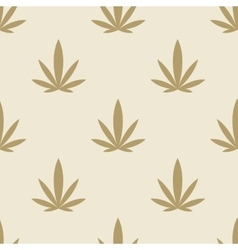 Marijuana background seamless pattern texture vector image