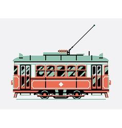 Tram Car Icon vector