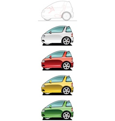Ultra light vehicle vector