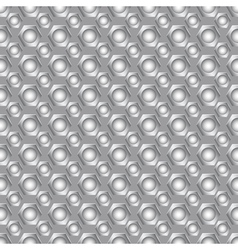 Seamless carbon pattern vector image vector image
