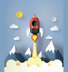 start up business concept vector image