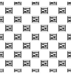 Atm bank cash machine pattern simple style vector