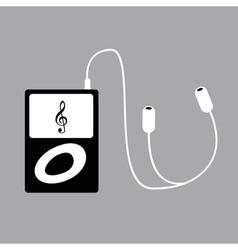 Ipod music vector image