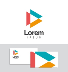 logo design element 34 vector image vector image
