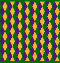 mardi grass seamless pattern vector image vector image