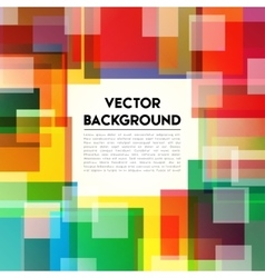 Background Rainbow Text vector image vector image