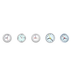 Alarm clock icon isolated on white background vector