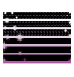 Black Graphic Elements vector image