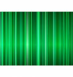 green stripe background vector image