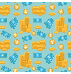 Money pattern vector
