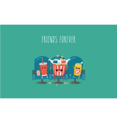 movie theater vector image
