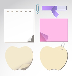 Notepaper1 vector