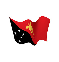 Papua new guinea flag vector