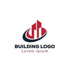 Real estate logo building logo city logo creative vector
