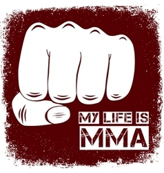 Sign MMA vector