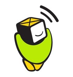 Sensor logo vector image