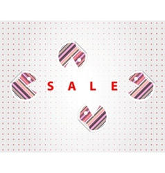 funny sale labels vector image
