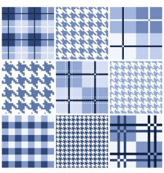 pattern collection vector image vector image