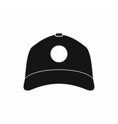 Sun cap icon simple style vector image