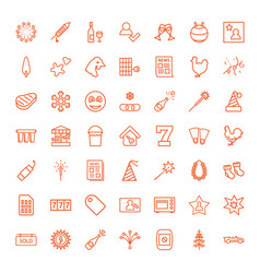49 new icons vector image