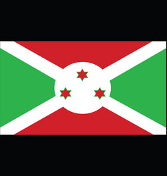 burundi flag for independence day and infographic vector image
