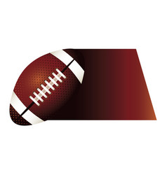 Colorful background of fast moving football ball vector