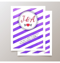 Cute ethnic cards and invitations vector