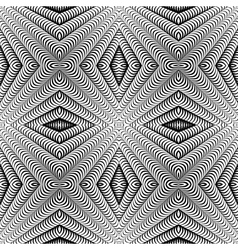 Design seamless diamond striped pattern vector