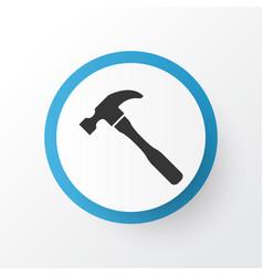 Hammer icon symbol premium quality isolated vector