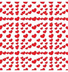 Seamless lot of heart vector