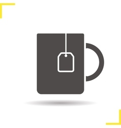 Teacup icon vector