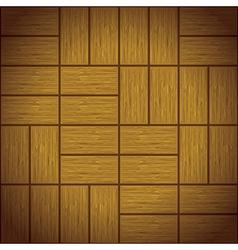 Wooden floor vector image vector image