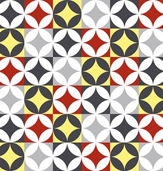 Traditional style ceramic tile patchwork design vector image vector image