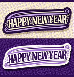 banners for new year vector image