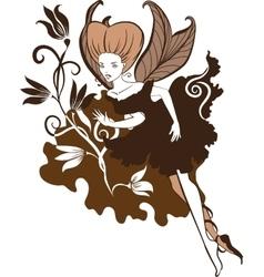 Chocolate Fairy vector image