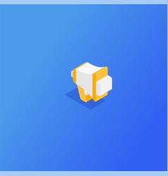 content management concept vector image