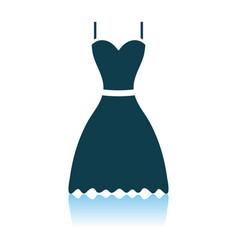 Dress icon vector