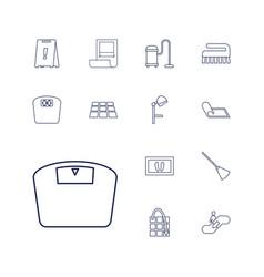 Floor icons vector