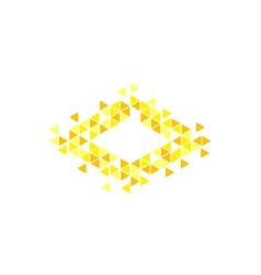 Mozaic logo concept vector