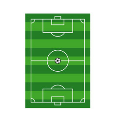 Playing field template design vector