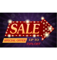 Sale Banner and Best Offer design vector image vector image
