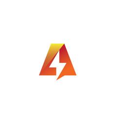 A bolt logo vector