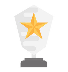 Achievement award vector